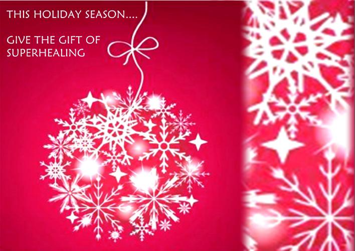 SuperHealing Holiday Sale